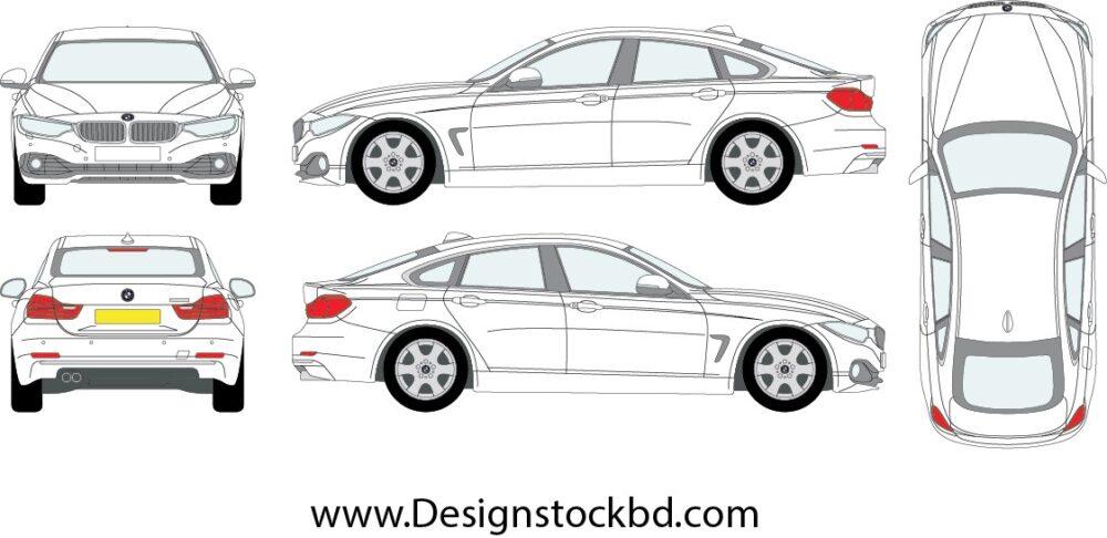 BMW X3 blueprint   Outline Download