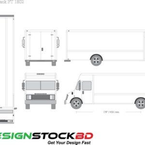 Workhorse 2002 , P42   Food Truck Blueprint / Trailer